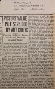 1939_07_28 Bordone painting worth $125,000 copy