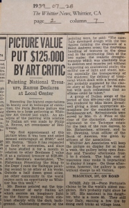 1939_07_28 Bordone painting worth $125,000 copy