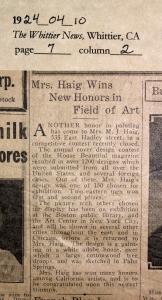 1924_04_10 WN Mabel Haig- finalist-House Beautiful-edited