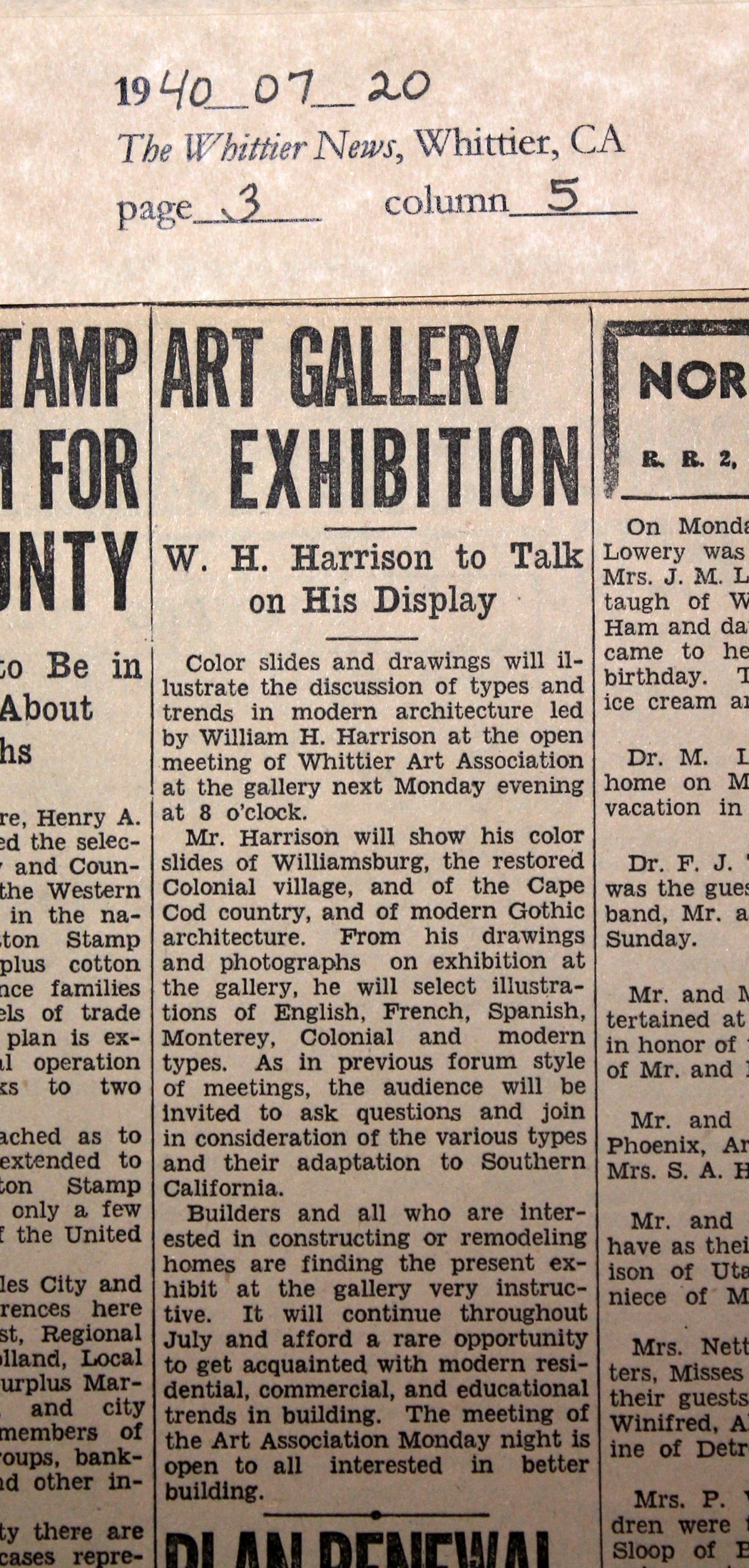 1940_07_20 WN  Wm. Harrison speaks on architecture edited.jpg